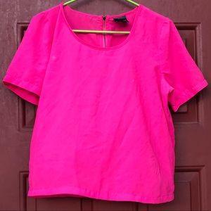 Tops - Vibrant fuchsia blouse